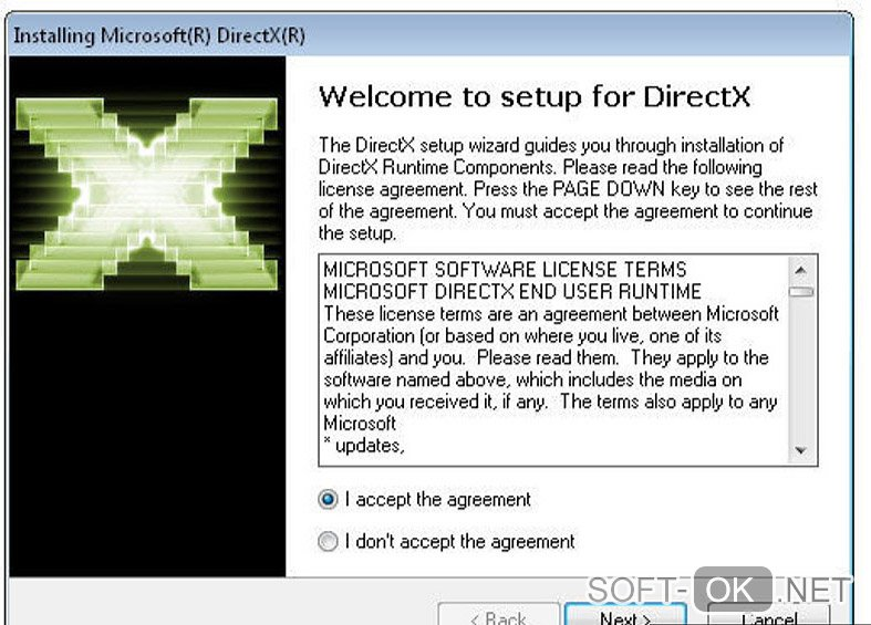 "Screenshot №1 ""Direct X"""