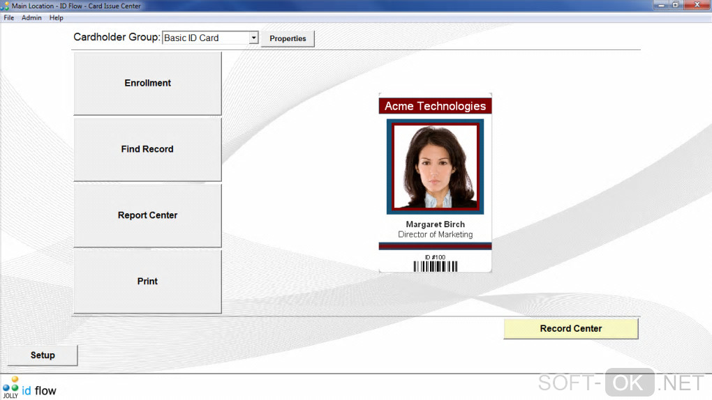 id card software free download windows 7