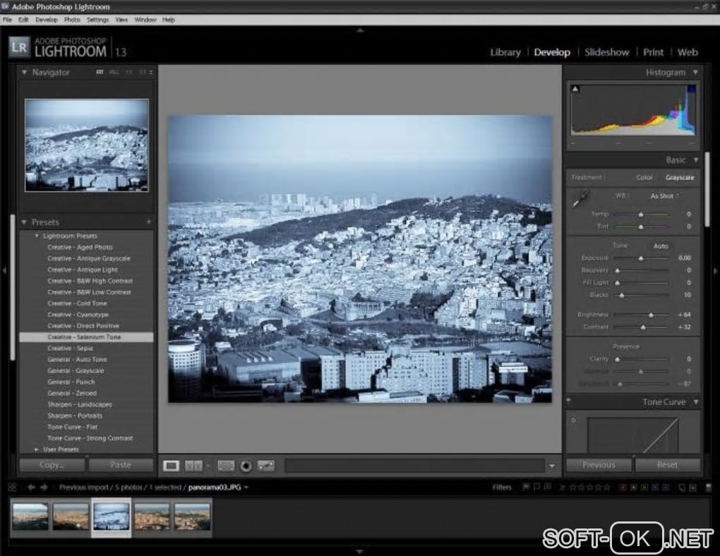 "The appearance ""Adobe Photoshop Lightroom"""