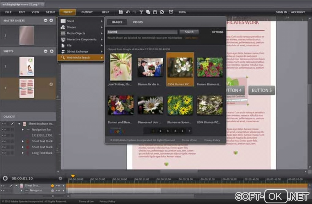 "Screenshot №2 ""Adobe Rome"""
