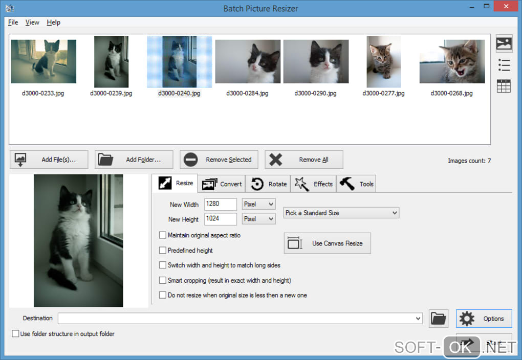 "Screenshot №1 ""Batch Picture Resizer"""
