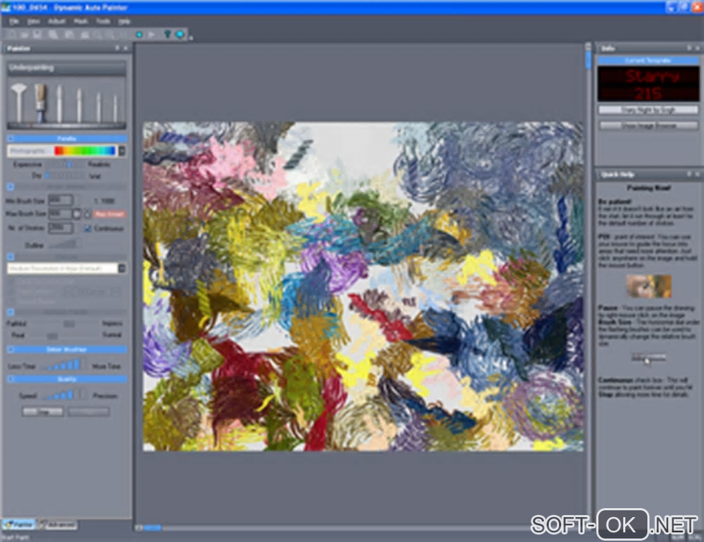 "The appearance ""Dynamic Auto-Painter"""