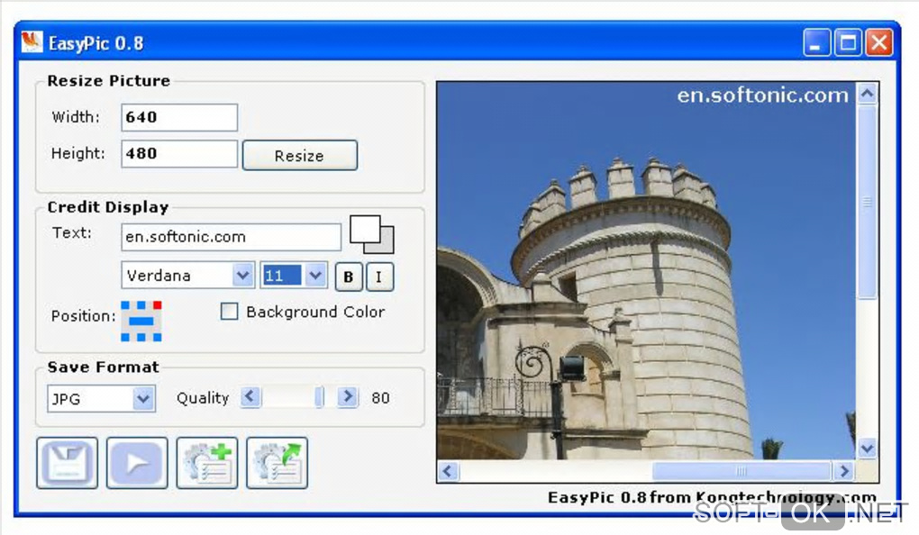 "Screenshot №1 ""EasyPic"""