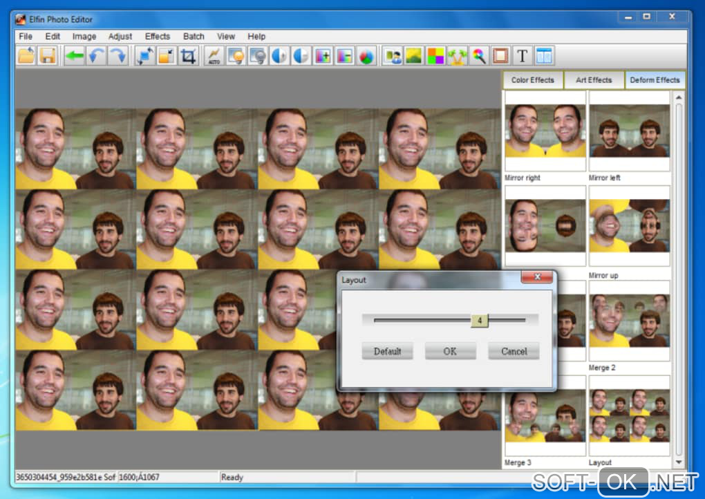 "Screenshot №1 ""Elfin Photo Editor"""