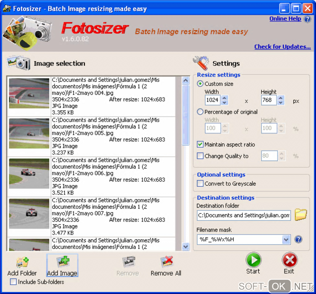 "Screenshot №2 ""Fotosizer"""