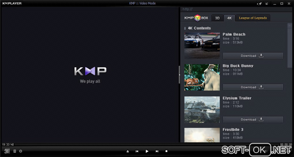 "Screenshot №2 ""KMPlayer"""