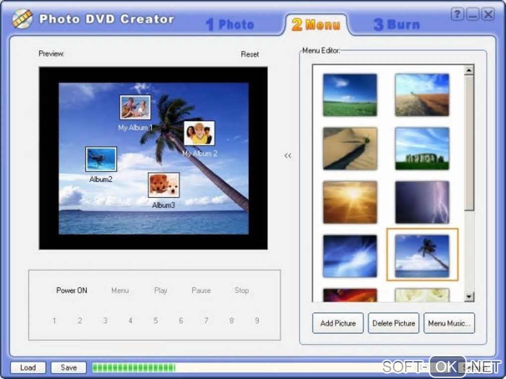 "Screenshot №2 ""Photo DVD Creator"""