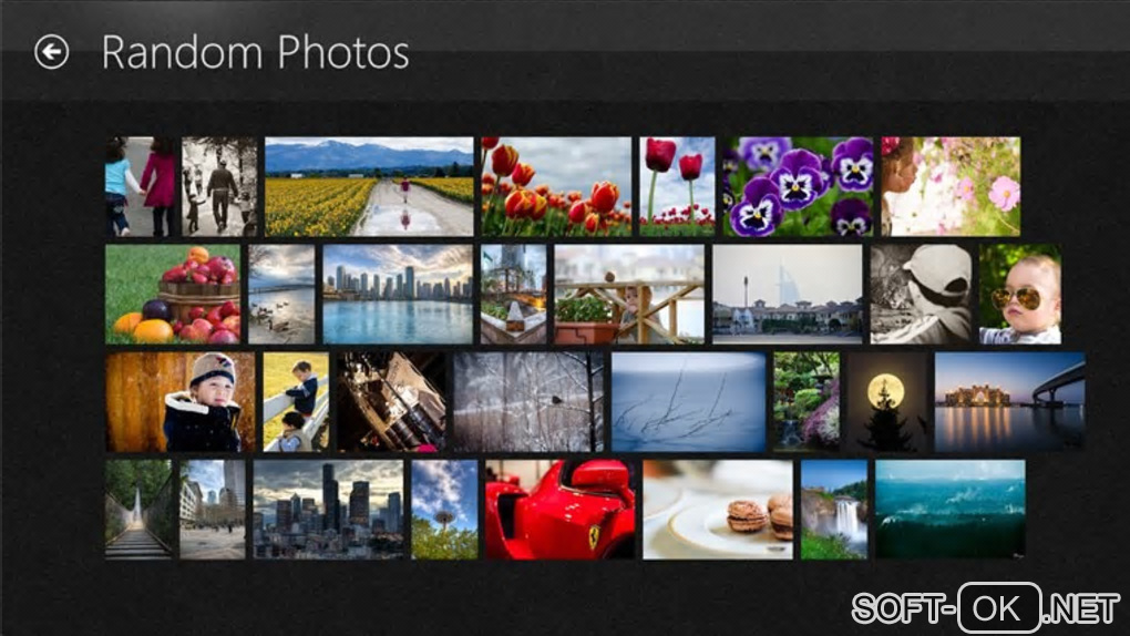 "Screenshot №1 ""Picasa Albums for Windows 10"""