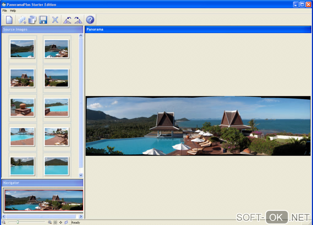 "Screenshot №1 ""Serif PanoramaPlus Starter Edition"""
