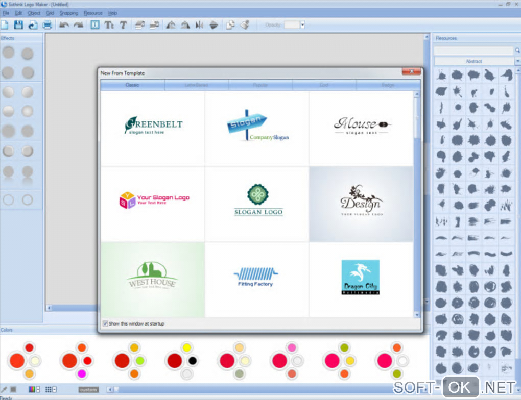 "Screenshot №2 ""Sothink Logo Maker"""