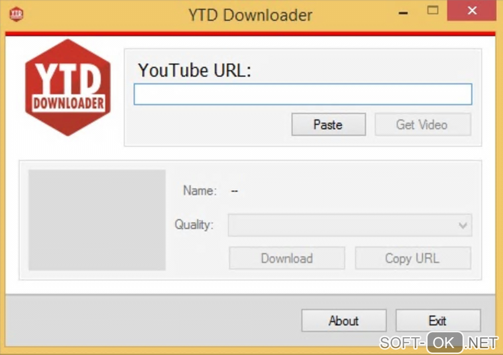 "Screenshot №1 ""YTD Downloader"""