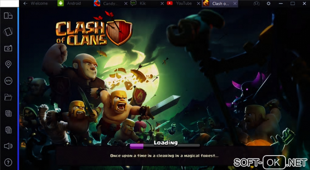 "The appearance ""BlueStacks App Player"""