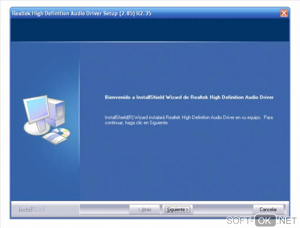 "The appearance ""Realtek HD Audio Drivers"""